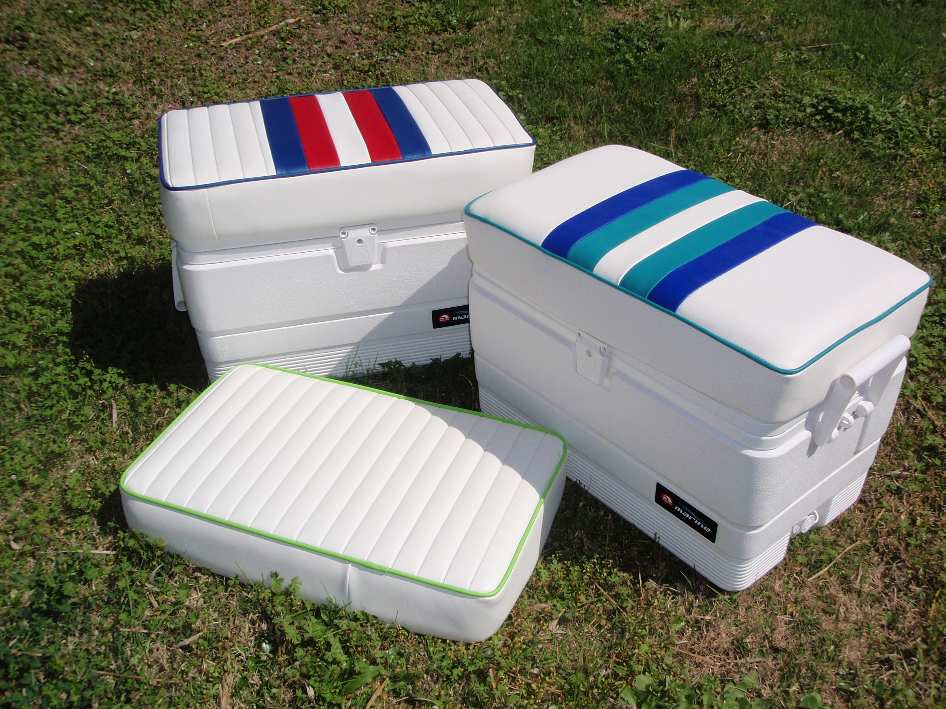54 Qt Marine Ice Chest Removable Cushion Bb Upholstery