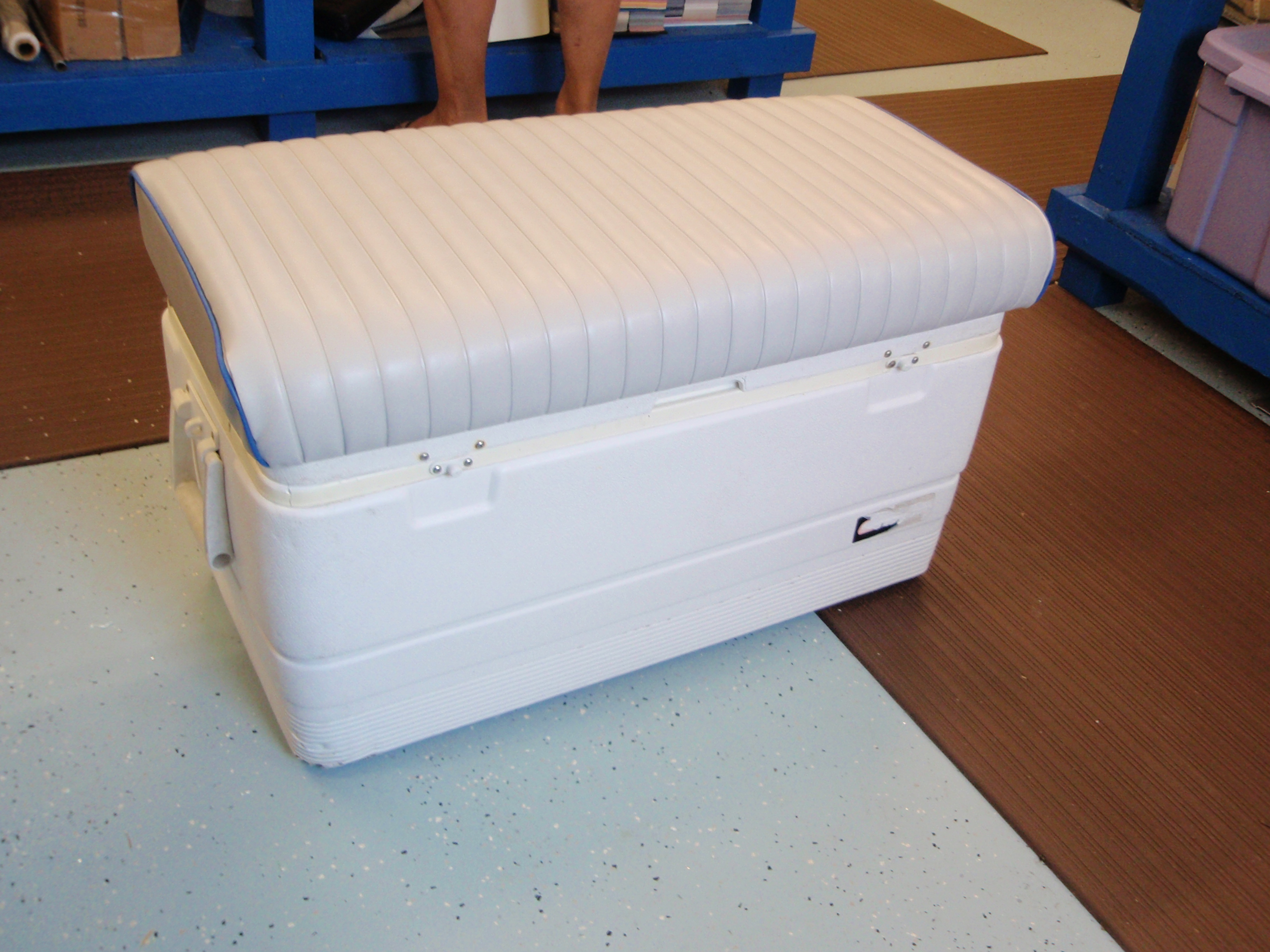 Removable Cushion For 94 Qt Marine Ice Chest Bb Upholstery