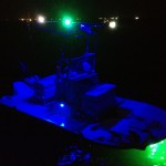 night fishing, night lights, flounder lights, gigging, flounder baot, night boat
